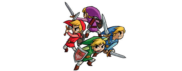 The Legend of Zelda: Four Swords, descargable en septiembre